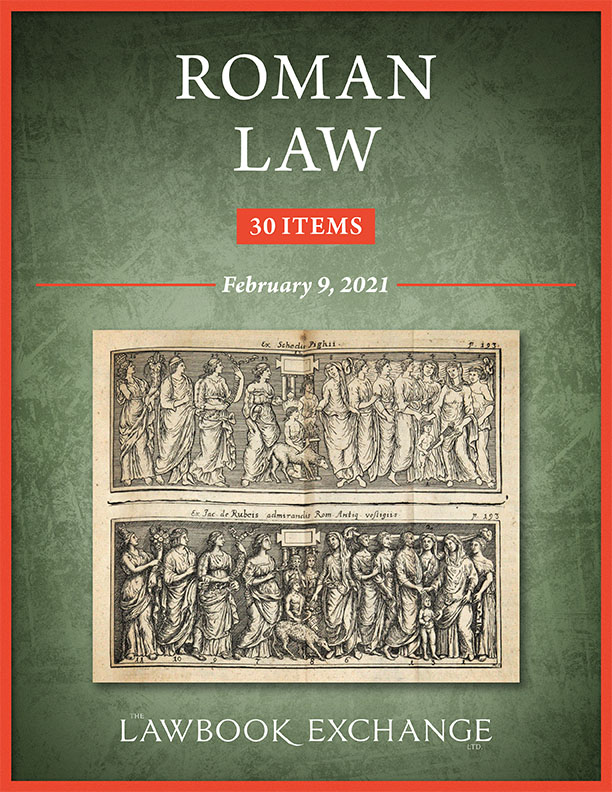 Roman Law: 30 Items