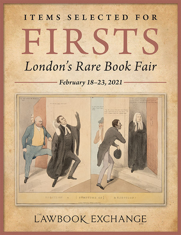 Items Selected for Firsts: London's Rare Book Fair