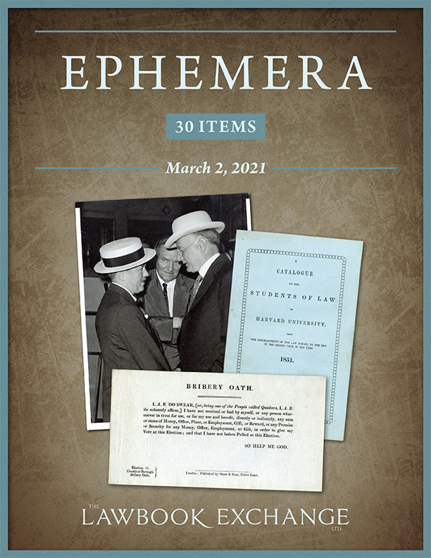Ephemera: 30 Items