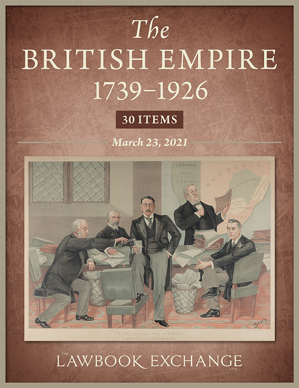 The British Empire, 1739–1926: 30 Items