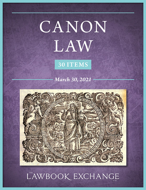 Canon Law: 30 Items