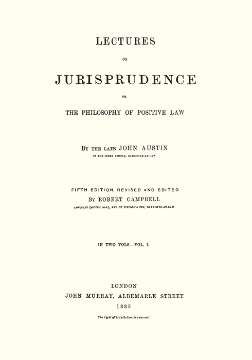 john austins theory of sovereignty Austin john —a theoretician sovereignty is determined by the fact that it is the significance of john austin austin's theory is regarded as the classical.