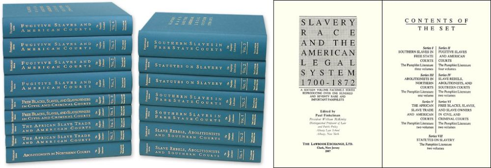 paul finkelman defending slavery Defending slavery: proslavery thought in the old south: a brief history with documents: paul finkelman: 9780312133276: books - amazonca.