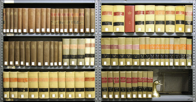 UNITED STATES TRADEMARK ASSOCIATION - Trademark Reporter. Vols. 17 to 78 (1927-1988), in 62 Books
