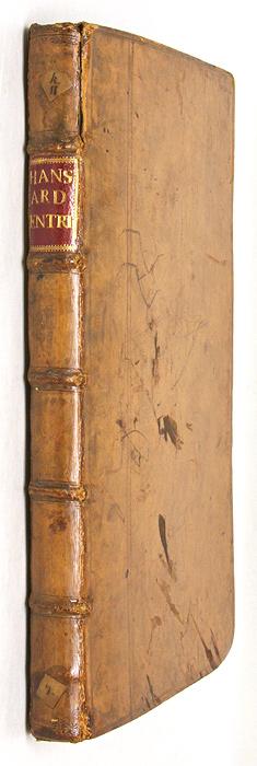 HANSARD, JOHN, COMPILER - A Book of Entries: Of Declarations and Other Pleadings General and. .
