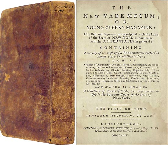 The New Vade Mecum; or Young Clerk's Magazine Digested and Improved. Thomas Spencer.