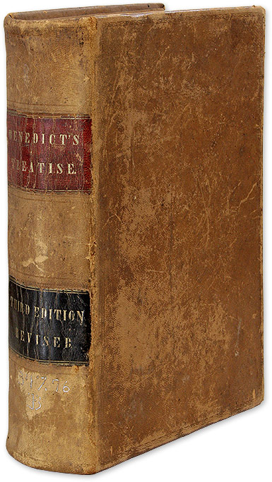 Benedict's Treatise: Containing a Summary of the Jurisdiction. J. Benedict.