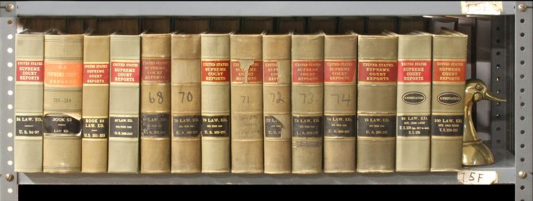 United States Supreme Court Reports L.ed. [1st series] 13 Vols. Lawyers Cooperative Publishing Co.