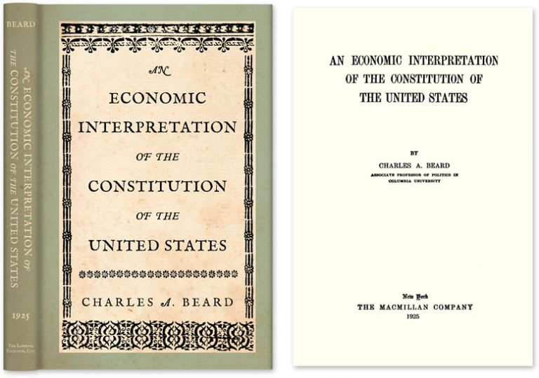 beard thesis constitutional convention In the convention are interpreted as contrary to the beard thesis by definition anti-democratic statements are contrary to the beard  constitutional convention in.