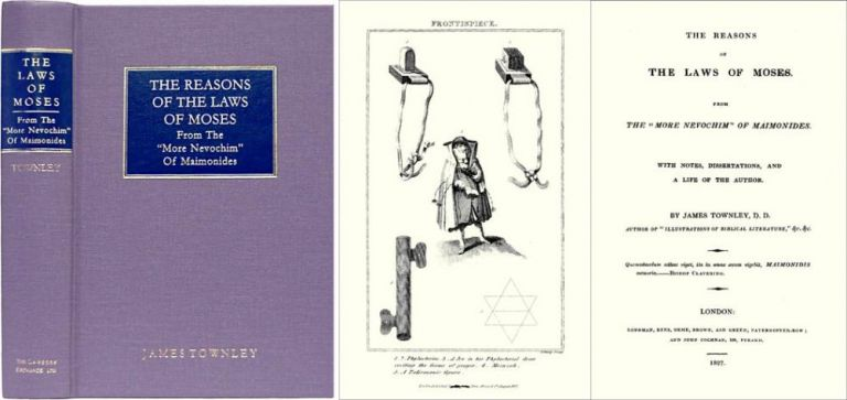 The Reasons of the Laws of Moses. James Townley.