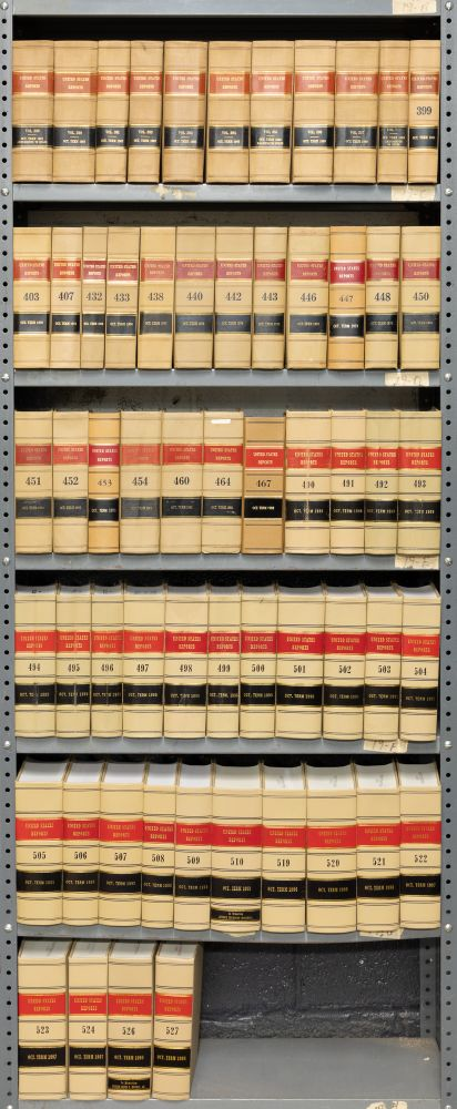 United States Reports. Official edition. 59 Volumes. United States Supreme Court.