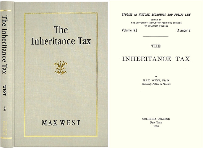 The Inheritance Tax. Max West.