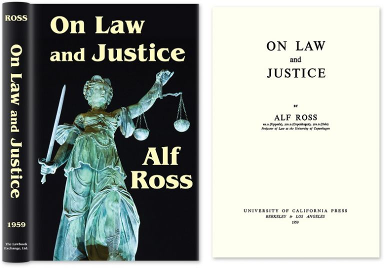 On Law and Justice. Alf Ross.