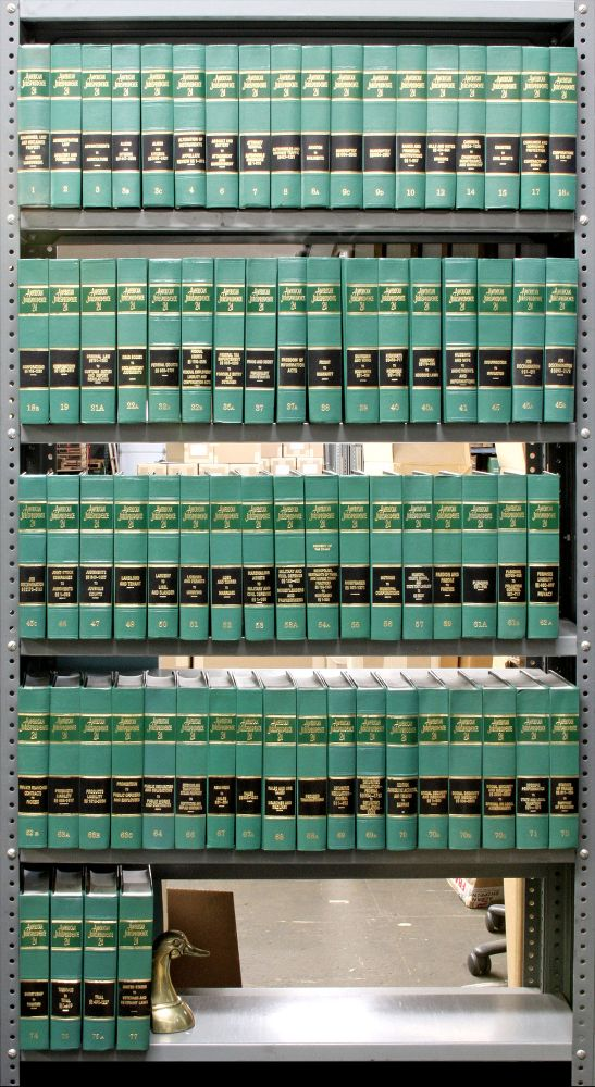 American Jurisprudence 2d. 67 Vols. with May 2004 supplements. Thomson Reuters.