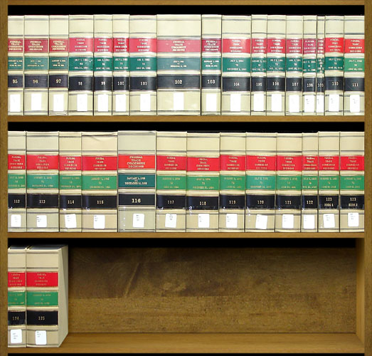 Federal Trade Commission Decisions. Vols. 19-94 (1939-1979). United States Federal Trade Commission.