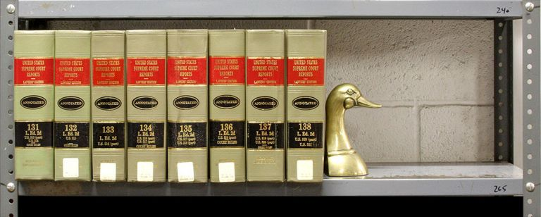 United States Supreme Court Reports, L.ed 2d. Vols. 131 to 138, 8 bks. LexisNexis.