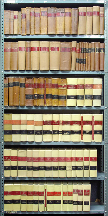 Laws of the General Assembly...Commonwealth Pennsylvania...1840-1971. Pennsylvania.