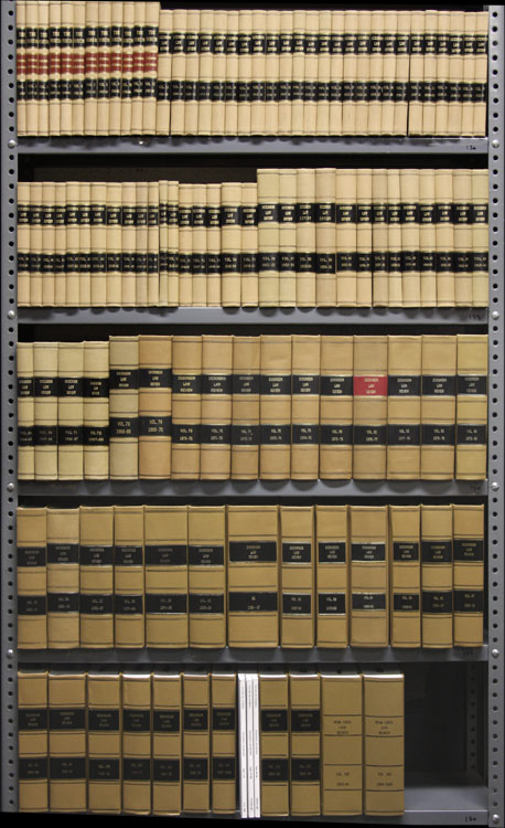 Penn State Law Review. Vols. 1 to 109 (1897-2005. 14 linear feet. Dickinson School of Law.