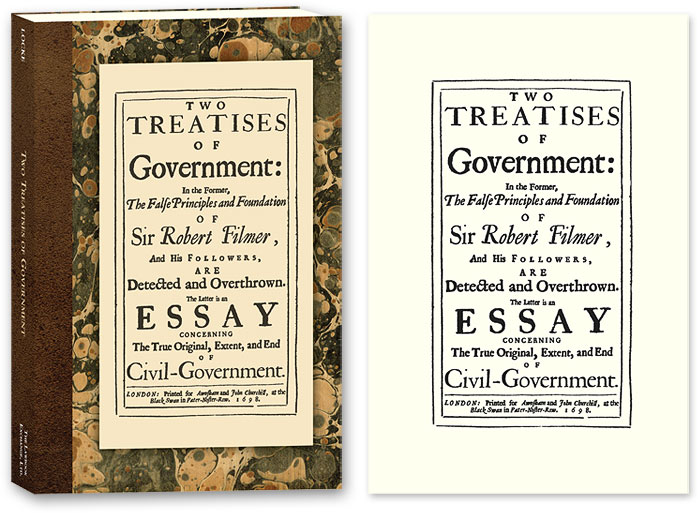 two treatises of government in the former the false principles and