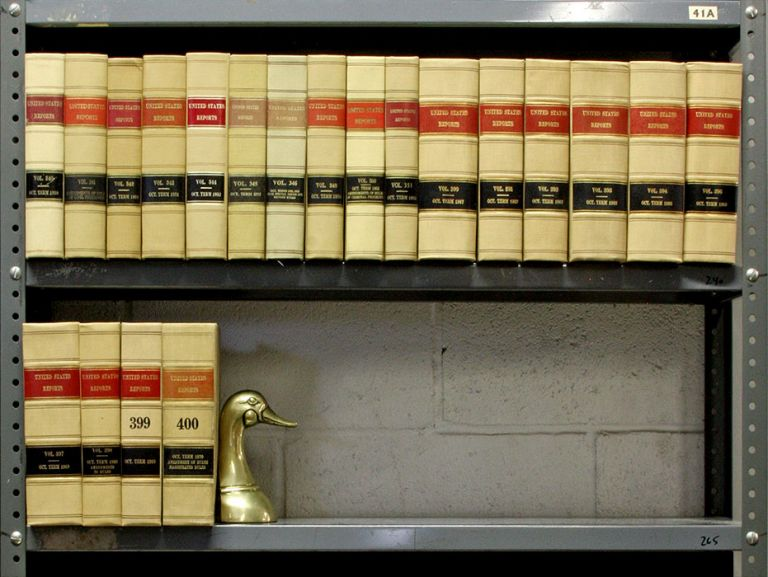 United States Reports. Official edition. 20 Vols. United States Supreme Court.