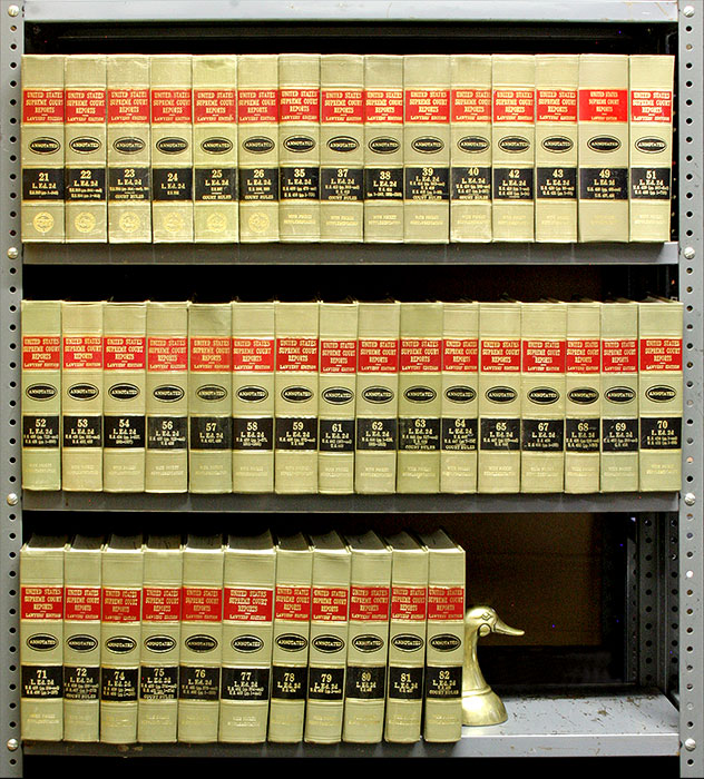 United States Supreme Court Reports, L.Ed 2d. 42 Vols. 8 linear feet. LexisNexis, Lawyers Cooperative Publishing Co.
