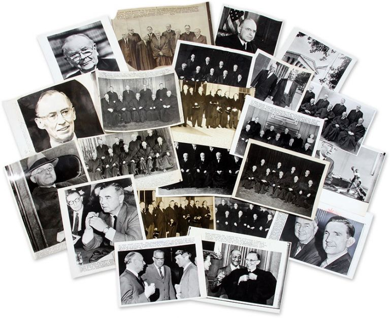 22 Black-and-White Press Photographs of (Or About) the U.S. Supreme. United States Supreme Court.