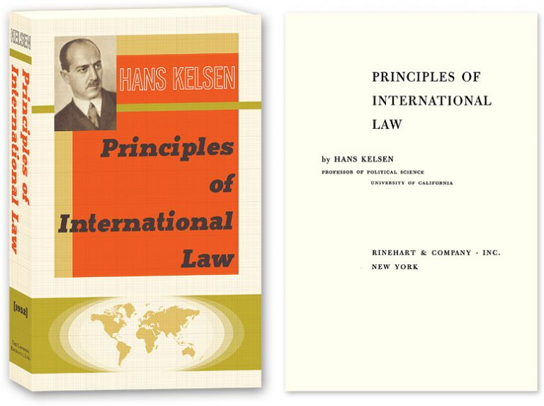 Principles of International Law. Hans Kelsen, PAPERBACK.