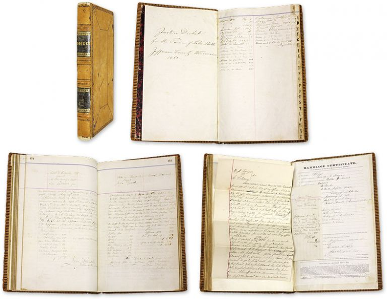 Justice Docket for the Town of Lake Mills, Jefferson County... 1868. Manuscript, Wisconsin.