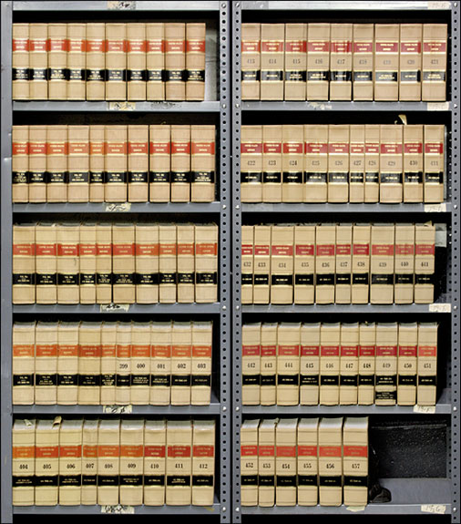 United States Reports. Official edition. Vols. 364-457 (1960-1981). United States Supreme Court.