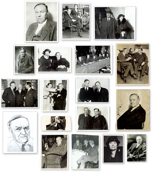 Eighteen (18) Black-And-White Press Photographs of Darrow. Clarence Darrow.