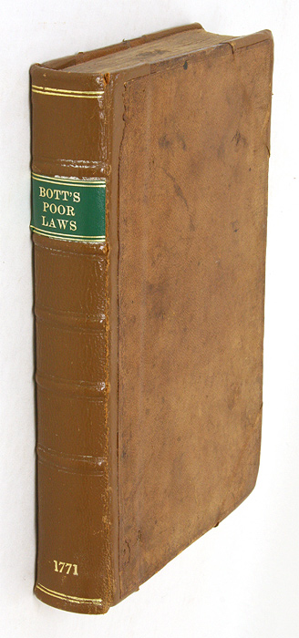 A Collection of Decisions of the Court of King's Bench Upon the. Edmund Bott.