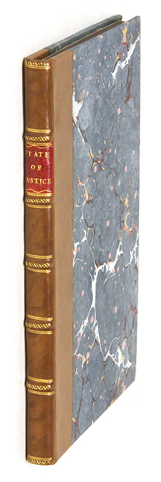 The State Of Justice Impartially Considered [bound with] A Short. Great Britain Justice, Thomas Trenchard.