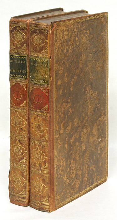A Collection of Curious Discourses Written by Eminent Antiquaries. Thomas Herne.