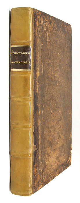 Provinciale, (Seu Constitutiones Angliae,) Continens Constitutiones. William Lyndwood, William Lyndewood.