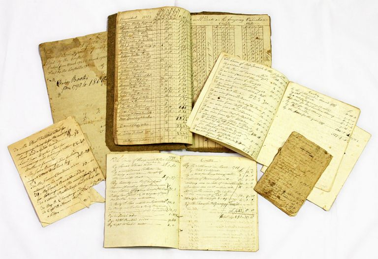 Documents Relating to the Town of New Ipswitch, NH, 1783-1813. Manuscript Archive, New Hampshire.