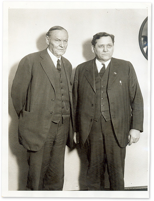 """6"""" x 8"""" Black-and-White Press Portrait Photograph of Darrow and. Clarence Darrow."""