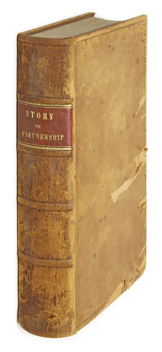 Commentaries on the Law of Partnership, First Edition, Boston, 1841. Joseph Story.