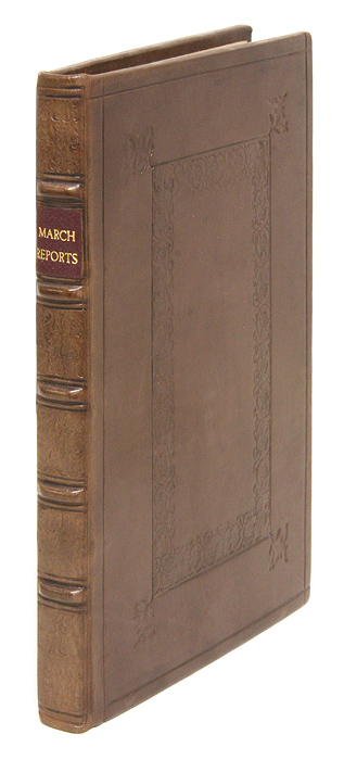 Reports: Or, New Cases; With Divers Resolutions and Judgements. John March.