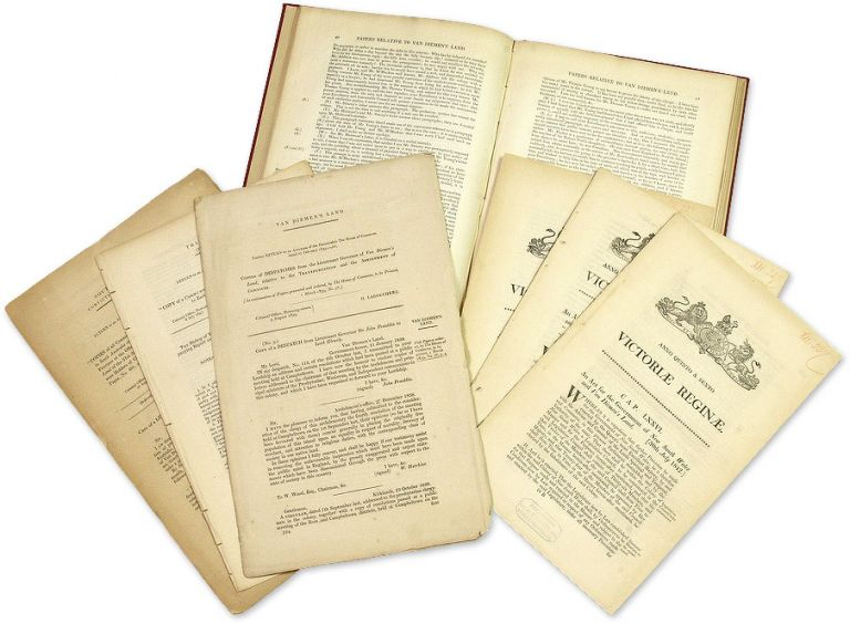 Van Dieman's Land. Copies of Despatches from the Lieutenant-Governor. Australia, Transportation, Van Dieman's Land.