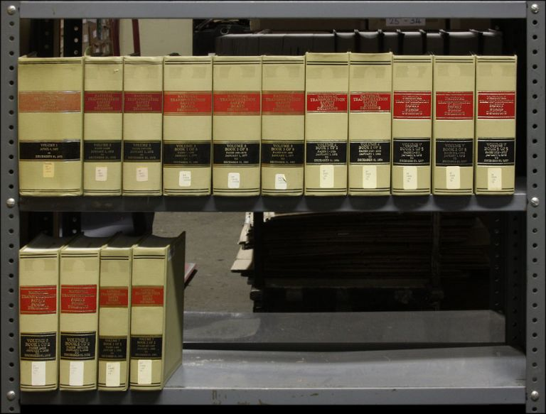 National Transportation Safety Board Decisions. 15 Vols. 1967-1991. National Transportation Safety Board.