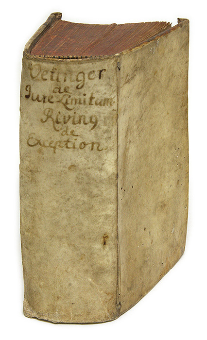 Tractatus De Jure Et Controversiis Limitum [Bound With 2 Other Books]. Johann Oettinger, Samuel Stryk, Oetinger.