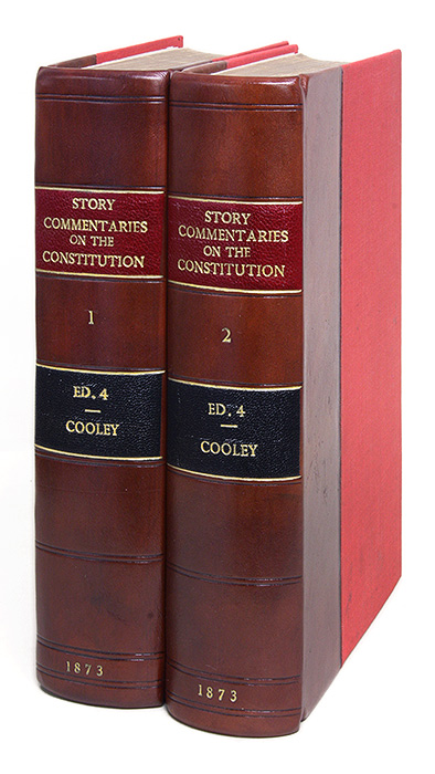 Commentaries on the Constitution of the United States, With a. Joseph Story, Thomas M. Cooley.