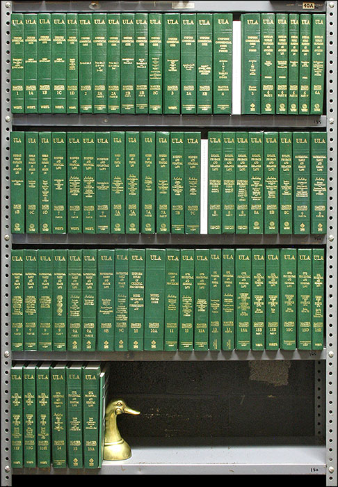 Uniform Laws Annotated. Vols 1-15A, 70 books complete w/May 2018 supps. Natl Conf. of Commissioners on Uniform State Laws.