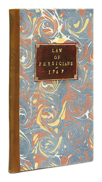 The Law of Physicians, Surgeons, And Apothecaries, Containing. Timothy Cunningham.