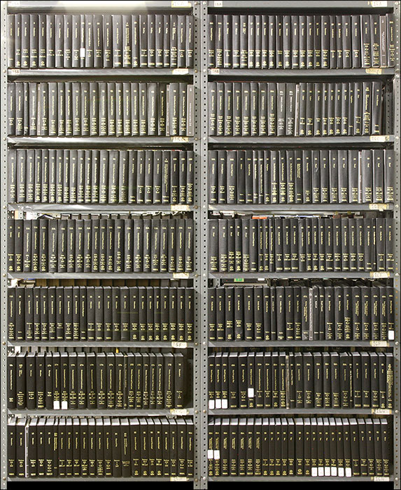 McKinney's Consolidated Laws of New York. 329 books 33 linear feet. Thomson Reuters.