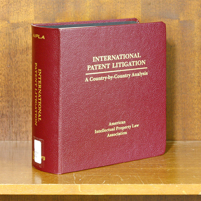 International Patent Litigation: A Country-by-Country Analysis. M. N. Meller, W. Hennessey, A. Tramsposch.