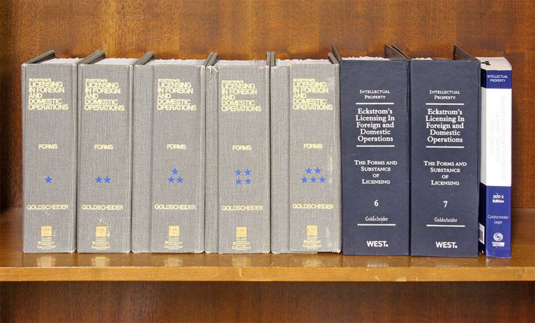 Eckstrom's Licensing in Foreign and Domestic Operations: The Forms. Robert Goldscheider, Melvin F. Jager.