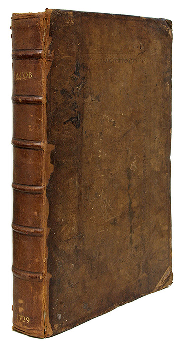 A New Law-Dictionary: Containing the Interpretation and Definition. Giles Jacob.