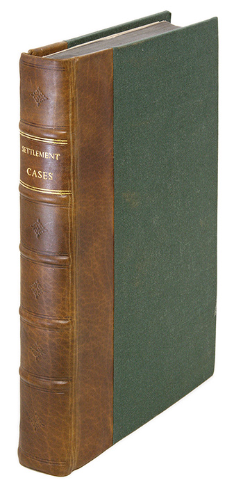 Cases and Resolutions of Cases, Adjudg'd in the Court of King's Bench. Poor Laws: Great Britain.