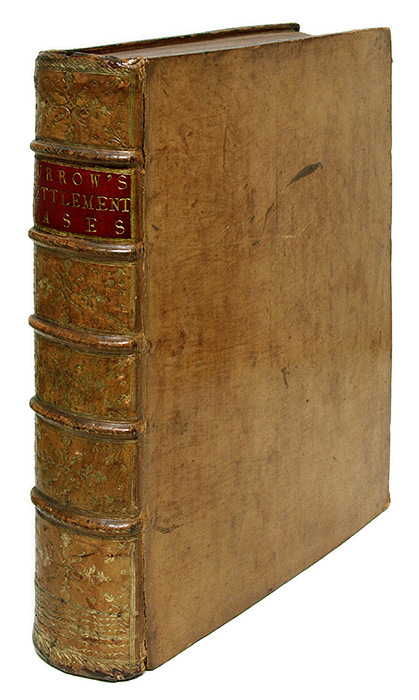 A Series of the Decisions of the Court of King's Bench, 2 Vols. in 1. Sir James Burrow.